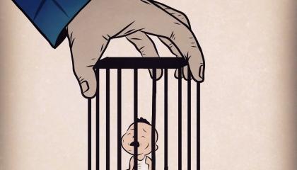 الأطفال في سجون أردوغان