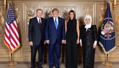 فقط دعوة عشاء وصورة تذكارية.. أردوغان يفشل في مناقشة ترامب رسميًا