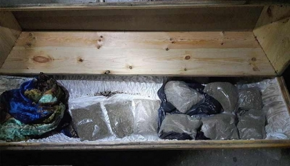 بالفيديو... العثور على 10 كيلو مخدرات داخل مسجد في تركيا