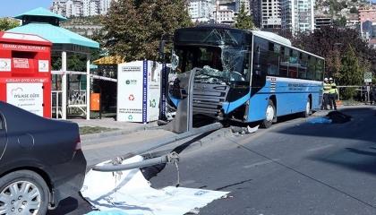 أتوبيس عام يقتل ويصيب 14 في أنقرة