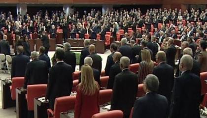 توتر بالبرلمان التركي في أولى جلساته والسبب أردوغان