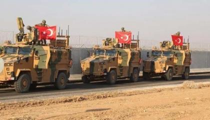 انطلاق الدورية البرية الثالثة المشتركة بين القوات التركية والأمريكية