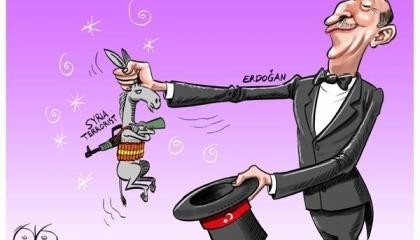 تركيا تدعم الإرهاب في سوريا