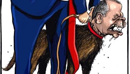 كاريكاتير أردوغان وترامب