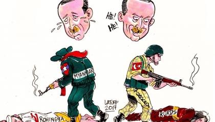 أردوغان ذو وجهين