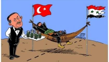 أردوغان راعي داعش في سوريا
