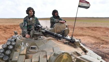 ماذا فعل الجيش السوري بمدرعات الاحتلال التركي بعد فرار جنود أردوغان (فيديو)