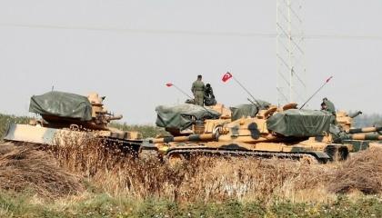 بالفيديو.. الاحتلال التركي يستخدم دبابات إسرائيلية في العدوان على سوريا