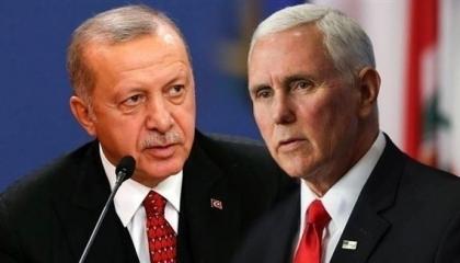 بالفيديو.. أردوغان كل حاجة والعكس.. يرفض لقاء نائب رئيس أمريكا ثم يلتقيه
