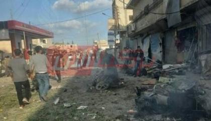 بالصور.. مقتل وإصابة 36 سوريًا في انفجار بمنطقة خاضعة لقوات الاحتلال التركي