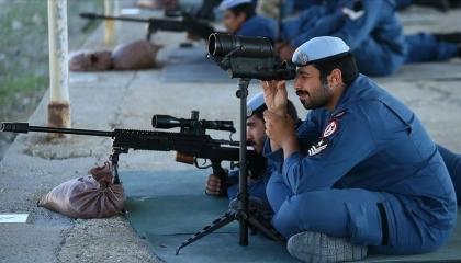 15 ضابطًا قطريًّا يتلقون تدريبات على أسلحة قنص في تركيا