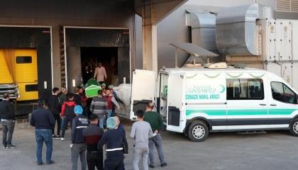 مصرع عامل تركي محشورًا في ماكينة خلط الشوكولاتة بمدينة غازي عنتاب