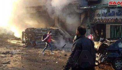 بالصور.. مقتل 3 وإصابة 20 في 3 انفجارات نفذتها مرتزقة أردوغان بالقامشلي