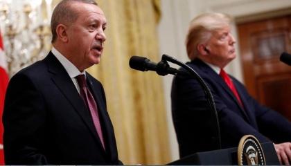 بالفيديو.. صدمة أردوغان في واشنطن بعد مواجهته برسالة ترامب المهينة