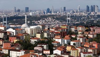 انخفاض مبيعات المساكن في تركيا بنسبة 2.5 %