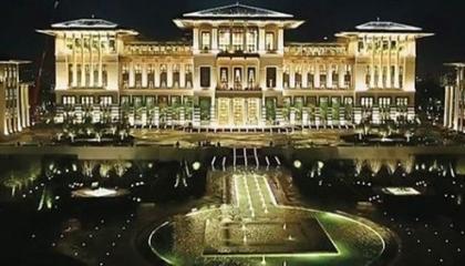 فيديو.. أردوغان ينفق على قصره 4.5 مليون ليرة يوميًا