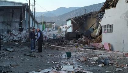 انفجار مصنع في مقاطعة باموكوفا التركية