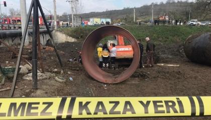 جريمة عمل جديدة بمدينة كوجالي التركية.. مصرع عامل في انهيار أعمال إنشائية