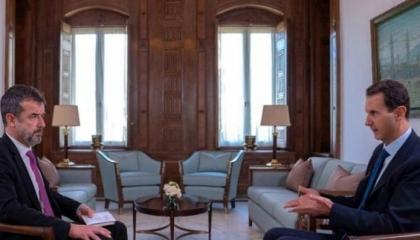 الرئيس السوري: تصرفات أردوغان غير أخلاقية و«لا يحترم نفسه»