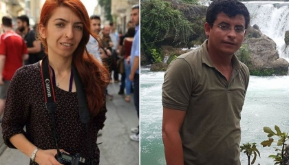 شرطة أردوغان تعتقل صحفيين بعد مداهمة منزليهما