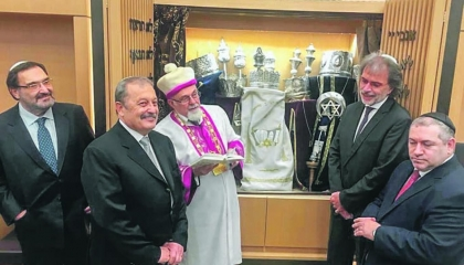 بحضور القنصل الإسرائيلي.. افتتاح معبد يهودي في إزمير التركية