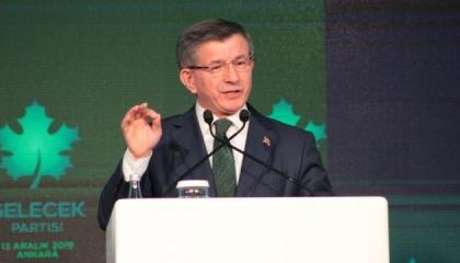بعد انتخابه رئيس «المستقبل».. داود أوغلو لحزب أردوغان: فلتخجلوا من أنفسكم