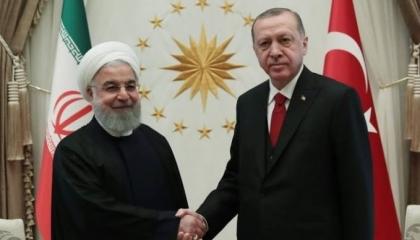 أردوغان يهاتف روحاني وبرهم صالح.. ورئيس إيران يرد: لنتكاتف معًا