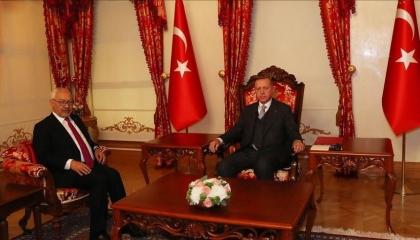 أردوغان يلتقي راشد الغنوشي في اجتماع مغلق بإسطنبول