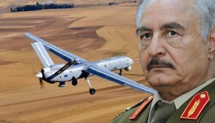 الجيش الليبي يسقط طائرة تركية مسيرة اخترقت سماء طرابلس