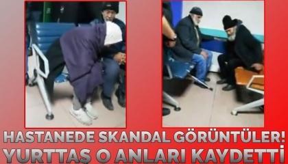 بالفيديو.. مستشفى تركي تطرد 3 مشردين من قسم الطوارئ