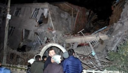 زلازل جديد بمدينة مالاطيا التركية بقوة 4.3 ريختر