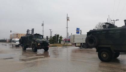 إرسال 60 مدرعة تركية ناقلة للجنود إلى مناطق المراقبة في إدلب