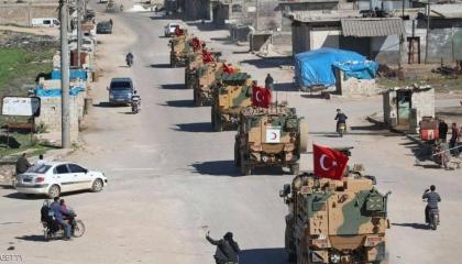 هل يغامر أردوغان؟ تحرك رتل من 200 مركبة عسكرية تابعة للوفاق باتجاه سرت