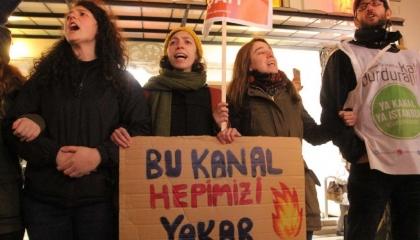 بالفيديو.. إمام أوغلو: أرواح الناس في خطر والسلطة تواصل العمل بقناة إسطنبول