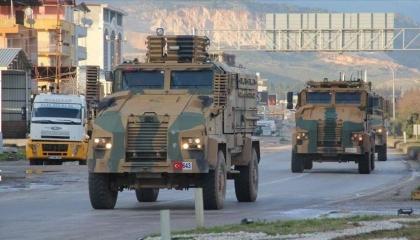 رتل عسكري تركي جديد يدخل الأراضي السورية