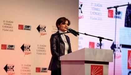 انتخاب جنان كافتنجي لرئاسة «الشعب الجمهوري» بإسطنبول