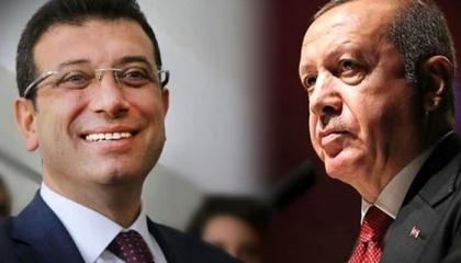 إمام أوغلو يسحق أردوغان في استفتاء حول المرشحين للرئاسة التركية