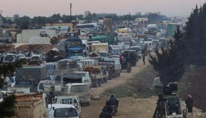 الأمم المتحدة: النزوح من سوريا الأسوأ منذ 9 سنوات
