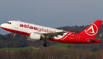 مزاعم حول إفلاس شركة الطيران التركية «أطلس جلوبال»
