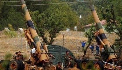 قصف صاروخي تركي على مواقع الجيش السوري في سراقب وغرب حلب