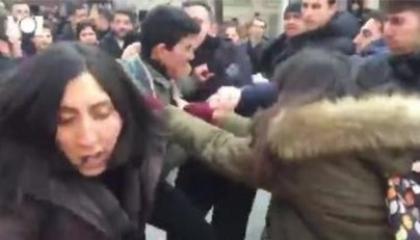 الشرطة التركية تعتدي على أصدقاء الطالب المنتحر بجامعة إسطنبول