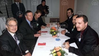أسرار علاقة الرئيس التركي بالمضارب المالي الأمريكي اليهودي الأصل «سوروس»