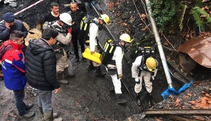 إصابات بين عمال في انفجار بأحد المناجم في مانيسا غرب تركيا
