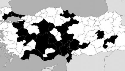 54 صلاة جنازة بـ25 مدينة تركية خلال شهر لقتلى إدلب
