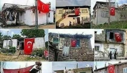 هكذا تبدو بيوتهم.. الجنود الفقراء يدفعون ثمن أطماع أردوغان ومصالحه الشخصية