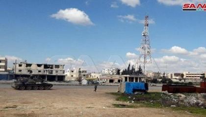 الجيش العربي السوري يسقط طائرة تركية مسيرة بريف إدلب