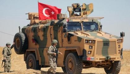 الاحتلال التركي يقصف قرى مناطق الشهباء بريف حلب