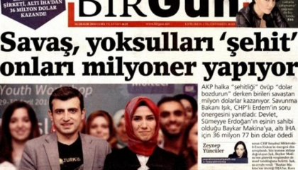 دعوات لإغلاق صحيفة كشفت دوافع أردوغان الخبيثة وراء الحرب