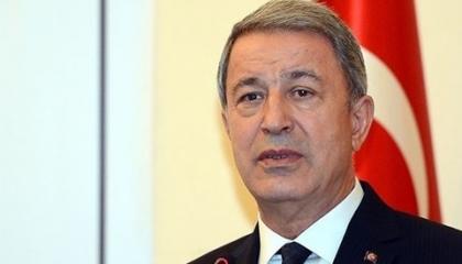 وزير الدفاع التركي: لدينا شهيد في إدلب