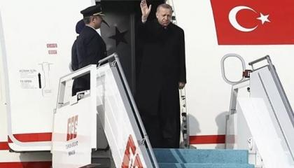 أردوغان يتوجه لروسيا للقاء بوتين